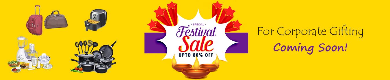 Festive season sale