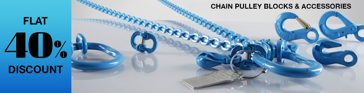 Chain Pulley Blocks & Accessories