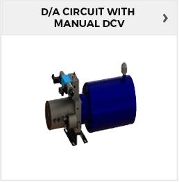 D/A CKT With Manual DCV