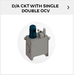 D/A CKT With Single/Double OCV