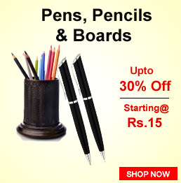 Pens, Pencils & Boards