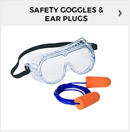 Safety Goggles & Ear Plugs