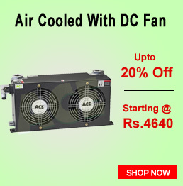 Air Cooled With DC Fan