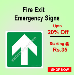 Fire Exit Emergency Signs