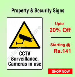 Property & Security Signs