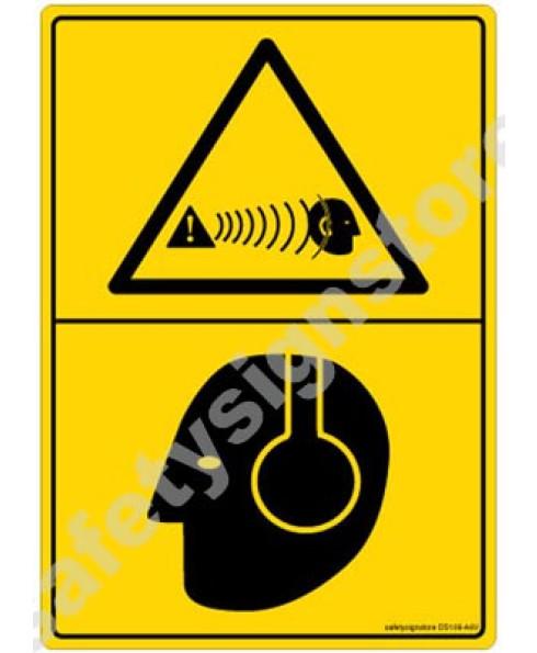 3M Converter 105X148 mm Danger Sign-DS108-A6V-01