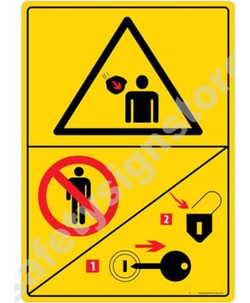 3M Converter 210X297 mm Danger Sign-DS432-A4V-01