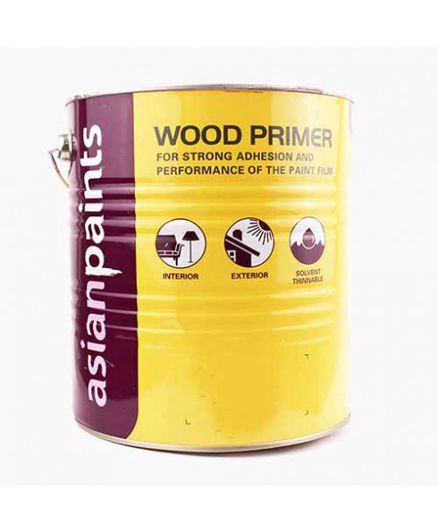 Buy Asian Paints Wood Primer White 4 Ltr Industrykart Com