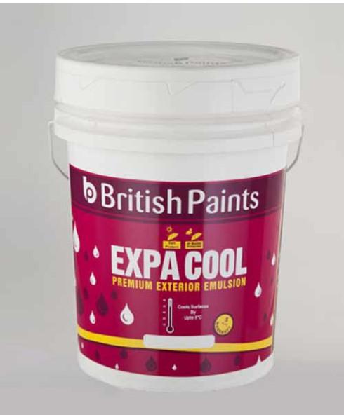British Paints Expa Cool Pemium Exterior Emulsion GR-I White (10 Ltr )