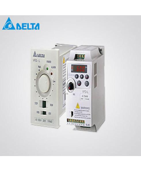Delta Single Phase 3 HP AC Motor Drive-VFD022EL21A