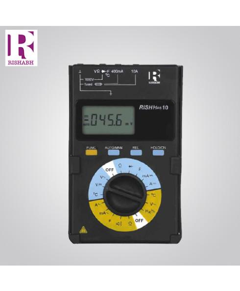 Rishabh Digital LCD Multimeter - Rish Max 10