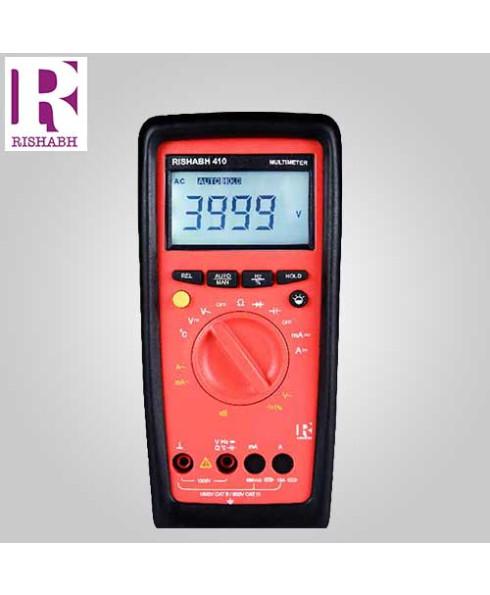 Rishabh Digital LCD Multimeter- 410