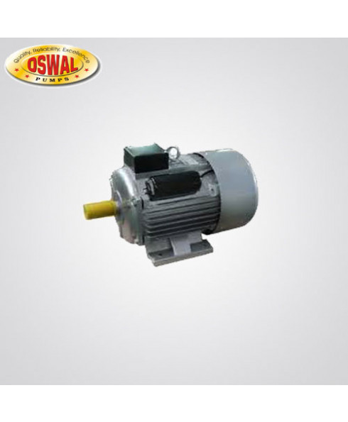Oswal Single Phase 1 HP 4 Pole Foot Mounted AC Induction Motor-OM-4-(SM)