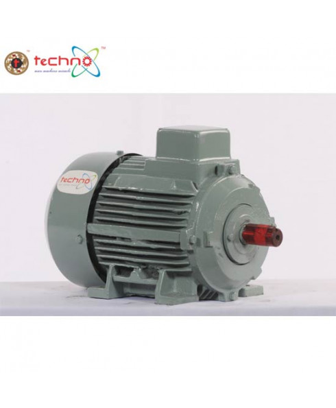 Techno Three Phase 0.25 HP 2 Pole AC Induction Motor-TIM-300