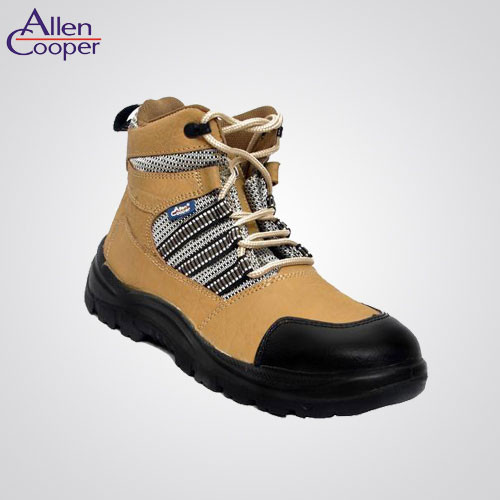 0b93564985b Allen Cooper Size 8 Steel Toe Safety Shoes-AC 9006