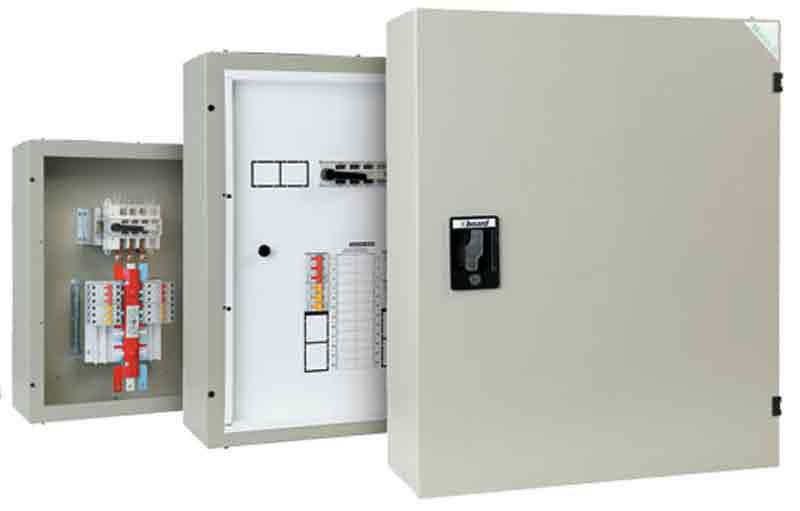 Schneider Ip30 8 Way Distribution Board A9hsns08