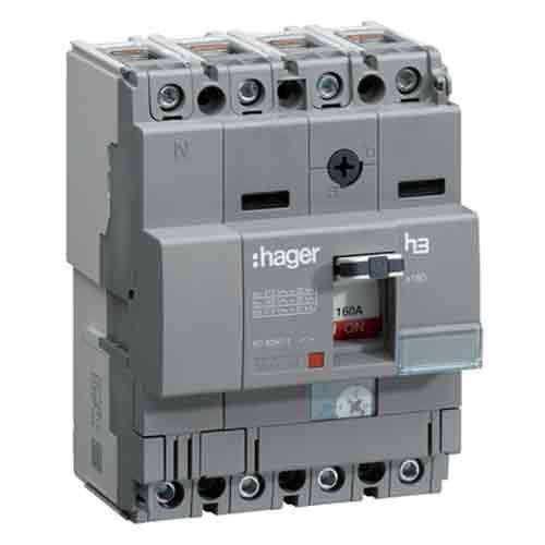 Buy Hager 4 Pole 63a Mccb Hha064z Industrykart Com