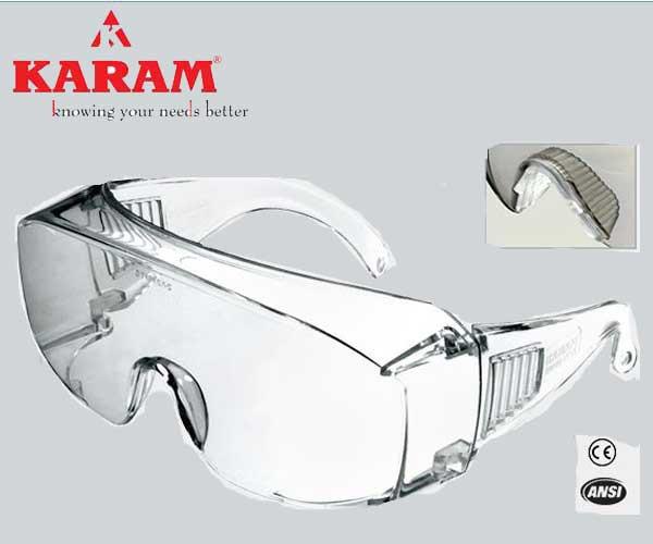 35728b3fc3 Karam Prescription-Glasses Wearer s Choice white Safety Goggle-ES ...