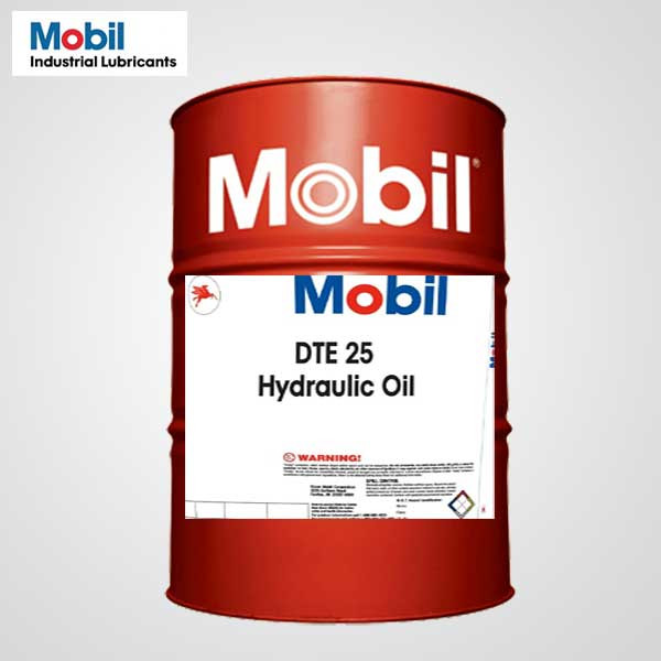 Buy Mobil Dte 25 46 Hydraulic Oil 208 Ltr