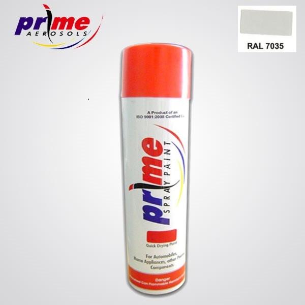 Buy Prime Aerosol Ral 7035 All Purpose Spray Paint Pack Of