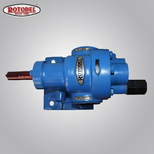 Rotodel 1X1 Inch 50 LPM 90°C Rotary Gear Pump-HGN-100