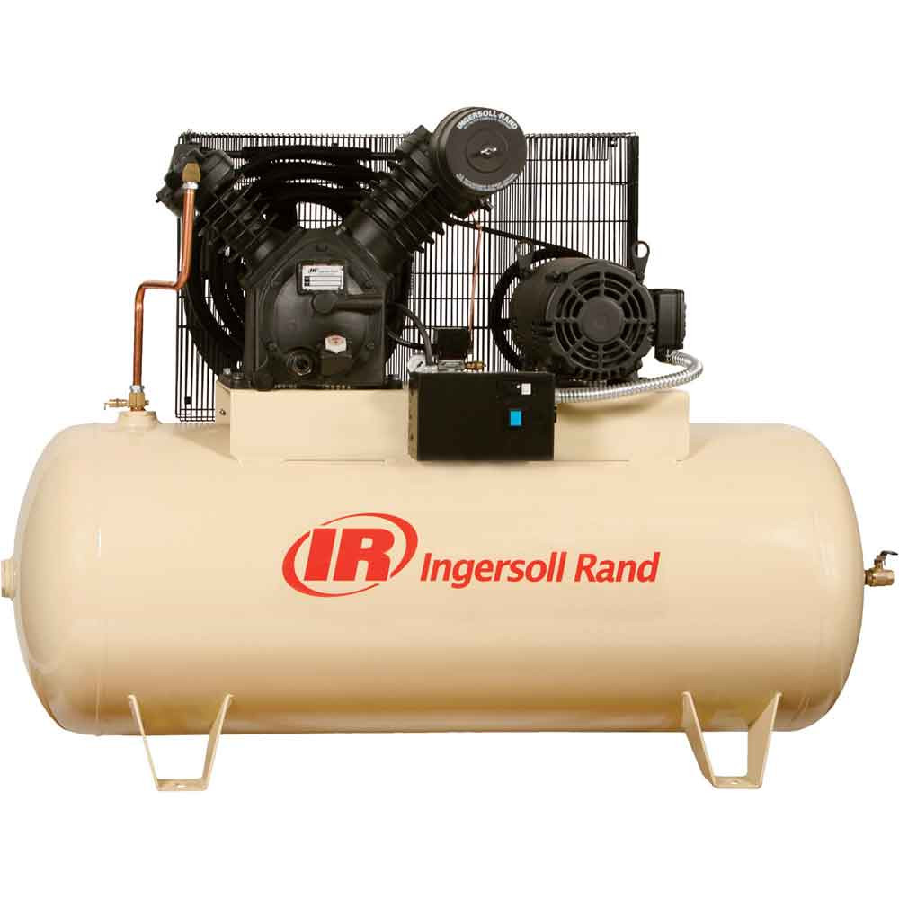 Ingersoll rand 3hp two stage electric driven air for Ingersoll rand air compressor electric motor