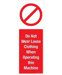 3M Converter 105X297mm Prohibitory Signs-PB113-1029V