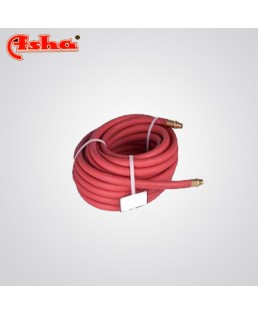 Ashaweld Rubber Hose Pipe 8 mm I/D Double Ply (Red)-3012729022 (Pack Of 100m)