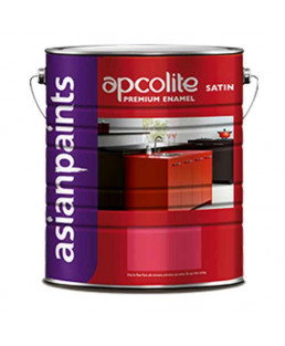 Asian Paints Apcolite Premium Stain Enamel-White-1 Ltr.