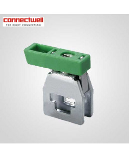 Connectwell 10 Sq. mm Earth Clamp Grey Terminal Block-CENC4