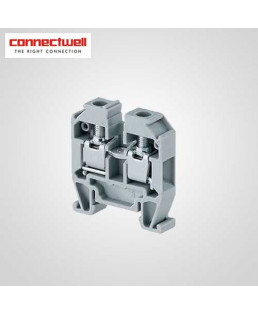Connectwell 4 Sq. mm Micro Grey Terminal Block-CMT4
