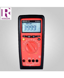 Rishabh Digital LCD Multimeter- 410