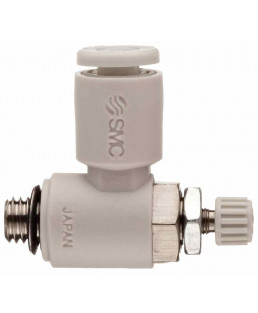 SMC M5X0.8 100LPM Flow Control Valve-AS1201F-M5-06A
