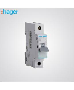 Hager 1 Pole 4A MCB-NCN104N