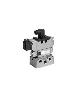 "SMC 1/2"" Solenoid ISO Valve-EVS7-8-FG-S-3A4M0"