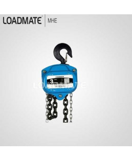 Loadmate 3 Ton Capacity Chain Pulley Block-CPB 0302
