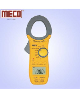 Meco 3¾ Digit 3999 Count 1000A AC Auto Ranging Digital Clampmeter-2520THz-AUTO