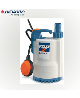 Pedrollo Single Phase 0.3 HP Dirty Water Drainage Pump-Top1