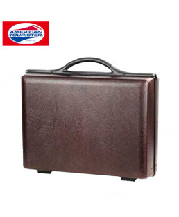 American Tourister 18 cm Profit Burgundy Hard Luggage Attache-62-018