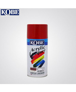 Kobe Red Acrylic Lacquer Spray Paint-Pack Of 12