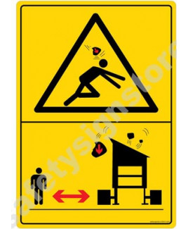 3M Converter 210X297 mm Danger Sign-DS410-A4V-01