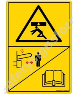 3M Converter 105X148 mm Danger Sign-DS428-A6V-01
