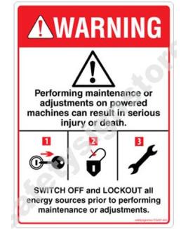3M Converter 105X148 mm Danger Sign-DS437-A6V-01