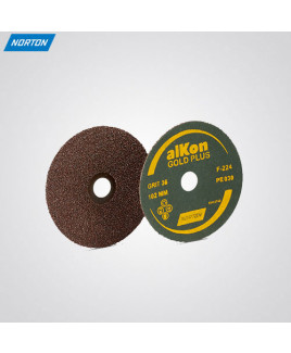 Norton Alkon Grit Size 80 Gold Plus Coated Discs-F224 (Pack of-100)