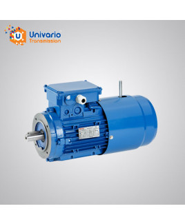 Univario Three Phase 1 HP 4 Pole Brake Motor-YEJ-802-4-B5