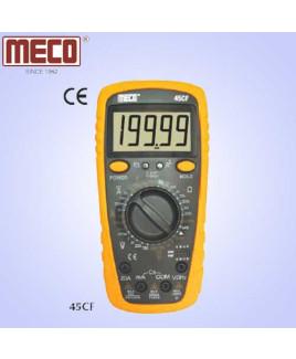 Meco 4½ Digit 19999 Count Manual Ranging Digital Multimeter-45CF