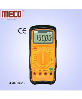 Meco 4½ Digit 19999 Count TRMS Manual Ranging Digital Multimeter-450-TRMS