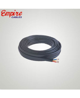 Empire 4mm² 3 Core Copper Submersible Cable-Pack Of 100 Meter