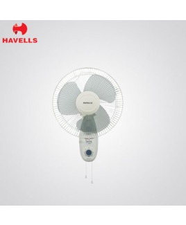 Havells 300 mm White Colour Wall Fan-Swing