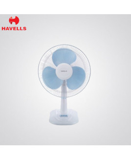 Havells 400 mm White Colour Table Fan-Swing ZX